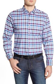 Tommy Bahama Classic Fit Plaid Button-Up Shirt