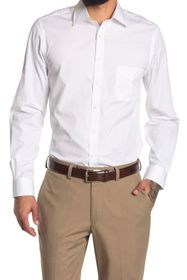 Brooks Brothers Solid Long Sleeve Milano Fit Shirt