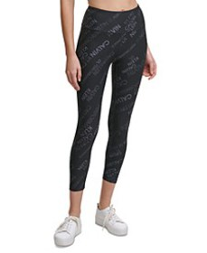 Remix Print Logo 7/8 Leggings