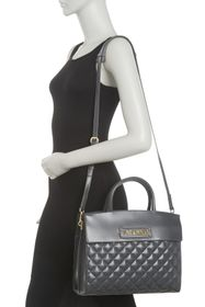 LOVE Moschino Quilted Tote Shoulder Bag