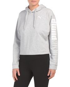 Modern Sport Hoody With Logo Sleeve