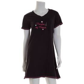 Womens René Rofé Short Sleeve Pardon My French Nig