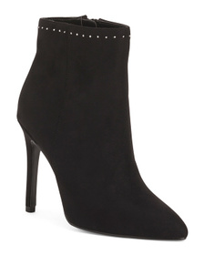 Pointy Toe High Heel Booties
