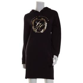 Womens Tommy Hilfiger Long Sleeve Foil Crest Knit