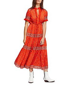 Free People - Rare Feeling Printed Maxi Dress