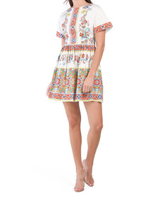 Camilla Tile Print Amparo Dress