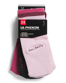 3pk Phenom 3.0 Crew Socks
