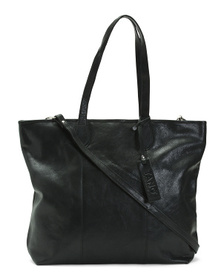Made In Italy Large Leather Tote