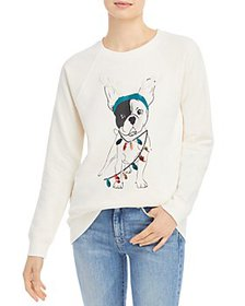 Marc New York - Dog Holiday Graphic Sweater