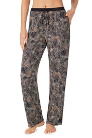 Donna Karan Abstract Print Lounge Pants