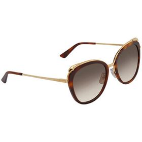 Cartier Cartier Grey Gradient Cat Eye Ladies Sungl