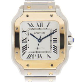 Cartier Cartier Santos Automatic Silver Dial Watch