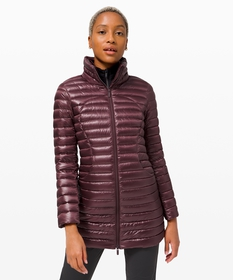 Lulu Lemon Pack It Down Long Jacket *Shine | Women