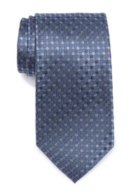 Kenneth Cole Reaction Silk Ethan Dot Stripe Tie