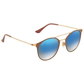 Ray-Ban Ray-Ban Blue Gradient Flash Round Sunglass