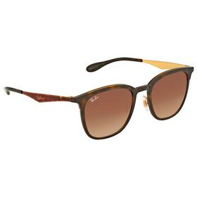 Ray-Ban Ray-Ban Brown Gradient Square Sunglasses R