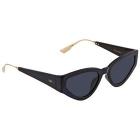 Dior Dior Blue Cat Eye Ladies Sunglasses CATSTYLED