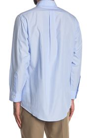 Brooks Brothers Solid Long Sleeve Regent Fit Shirt