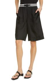 Rag & Bone Isadora Side Stripe Silk Blend Shorts