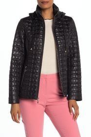 kate spade new york quilted packable hood jacket