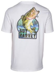 Guy Harvey Leaping Large Mouth Bass Short-Sleeve T