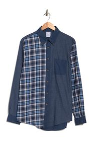 Brooks Brothers Colorblocked Plaid Print Regular F