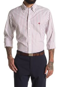 Brooks Brothers Stripe Print Regular Fit Shirt