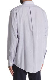 Brooks Brothers Pinstripe Print Long Sleeve Madiso