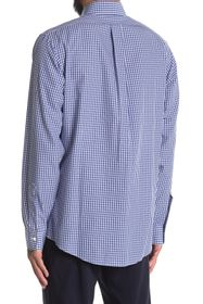 Brooks Brothers Check Print Long Sleeve Regent Fit