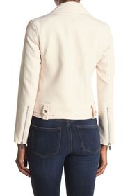 T Tahari Long Sleeve Moto Jacket