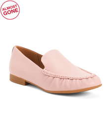 Slip On Leather Loafers