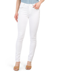 The Skinny Jeans With Studs