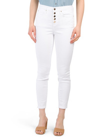 Stacked Button High Waisted Jeans
