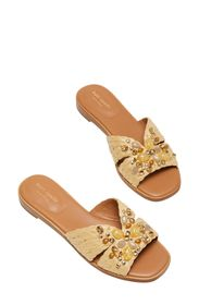 kate spade new york Dock crystal slide sandal