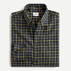 J. Crew Slim Untucked brushed twill shirt in plaid