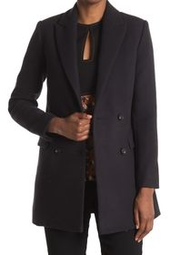 REISS Dana Fitted Wool Blend Coat
