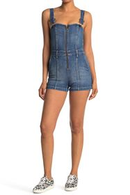 alice + olivia Gorgeous Overall Shorts