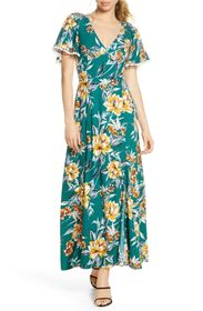 French Connection Claribel Floral Maxi Dress
