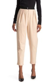 alice + olivia Roy Front Pleat Carrot Pants