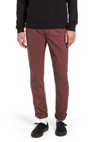 VANS AUTHENTIC CHINO STRAIGHT FIT STRETCH PANT