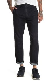7 For All Mankind Slim Fit Cropped Jeans