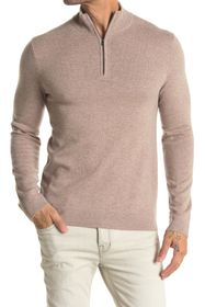 Theory Donners Mock Neck Cashmere Sweater