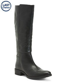 Comfort Leather High Shaft Boots