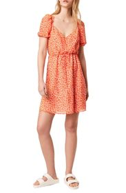 French Connection ETTA KISS PRINT DRESS