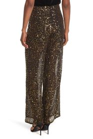 French Connection Aida Sequin Wide Leg Trousers