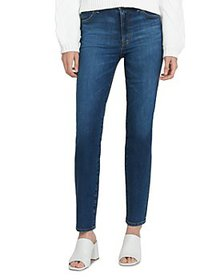 J Brand - Teagan High-Rise Straight Jeans in Arcad
