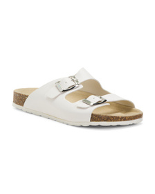 Made In Italy Buckle Sandals (Little Kid, Big Kid)
