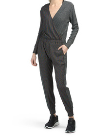 Made In Usa Cloud Nine Waffle Knit Jumpsuit