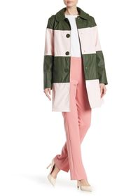 kate spade new york colorblock coat