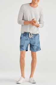 7 For All Mankind Drawcord Short